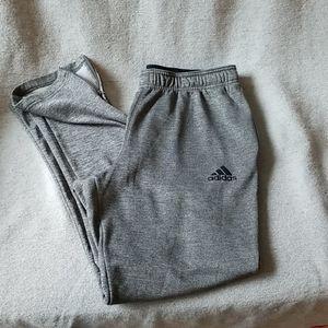 Mens Adidas Climawarm grey jogging pants